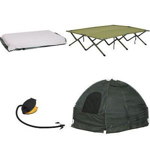 Compact Folding Travel Camping Cot Bed Tent Outdoor Use for Sale in Los Angeles, CA