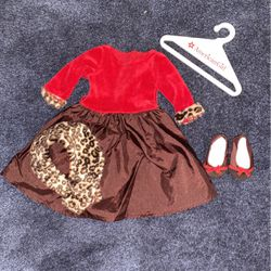 American Girl Doll Chocolate Cherry Outfit for Sale in Sutton,  MA