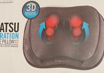 HoMedics Shiatsu and Vibration Massage Pillow with Heat for Sale in South El Monte,  CA