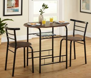 Bistro kitchen set table with 2 chairs - NEW for Sale in Taylor, MI