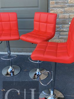 Brand New! $60 Each 3 Red Bar Stools for Sale in Orlando,  FL