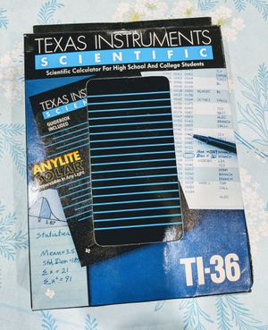 Texas Instruments Scientific Solar Calculator for Sale in Pembroke Pines, FL