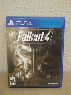 Fallout 4 Ps4 for Sale in Fresno, CA