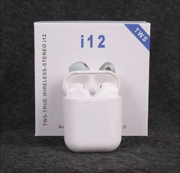 I12 TWS Headphone AirPod iPhone Samsung Bluetooth Wireless