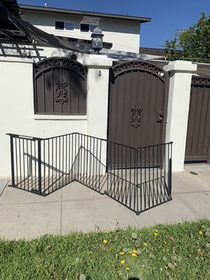Dogs iron gate for Sale in Long Beach, CA