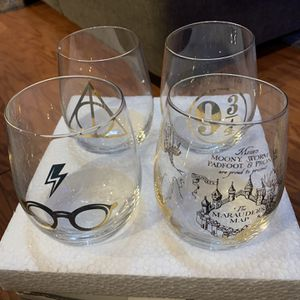 Harry Potter Collectable Stemless Wine Glasses for Sale in Baltimore, MD