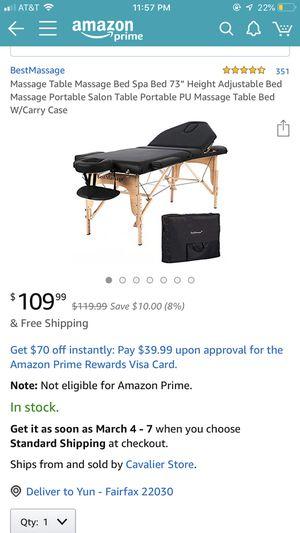Massage bed - brand new for Sale in Fairfax, VA