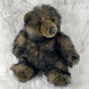 "Black Brown Sitting Plush Bear Stuffed Animal 16"" Toy for Sale in Bentonville, AR"