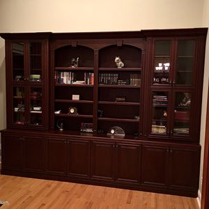 Library & Wall Bookcase Bookshelves for Sale in Orlando, FL