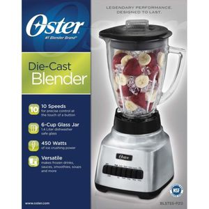 Oster®️ Classic Series Consistent 10-Speed Blender - Die Cast - Glass Jar (STAN) for Sale in Sugar Land, TX