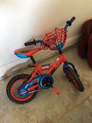Spider-Man bike for Sale in D'Iberville, MS