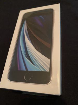 Apple iPhone SE 128gb white unlocked brand new sealed new case and glass screen protector and same day I do deliver and meet up 👌 for Sale in Fremont, CA