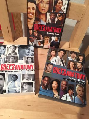 Greys Anatomy season 1,2,3 for Sale in Delaware, OH