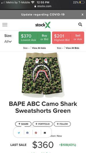 bape abc shorts Medium for Sale in Jacksonville, FL