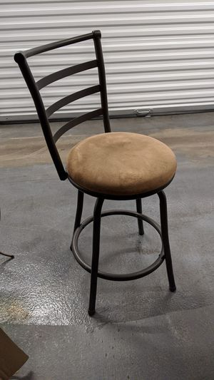 Barstool with microfiber material for Sale in Tumwater, WA