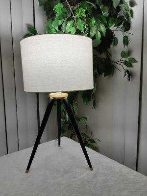 Genuine black tripod 3 leg table / floor lamp. Like new condition for Sale in Scottsdale, AZ