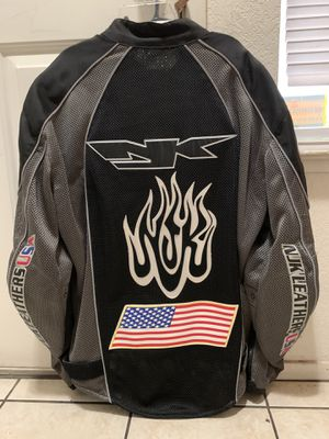 Njk motorcycle jacket size L for Sale in Fresno, CA