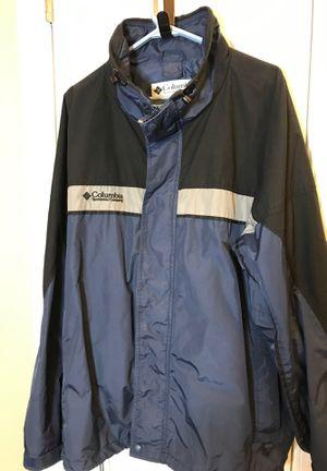 XXL Columbia Jacket Navy waterproof men's Bugaboo exec cond for Sale in Manassas, VA