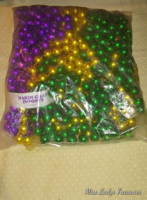Large Mardi Gras Beads for Sale in Minneapolis, MN