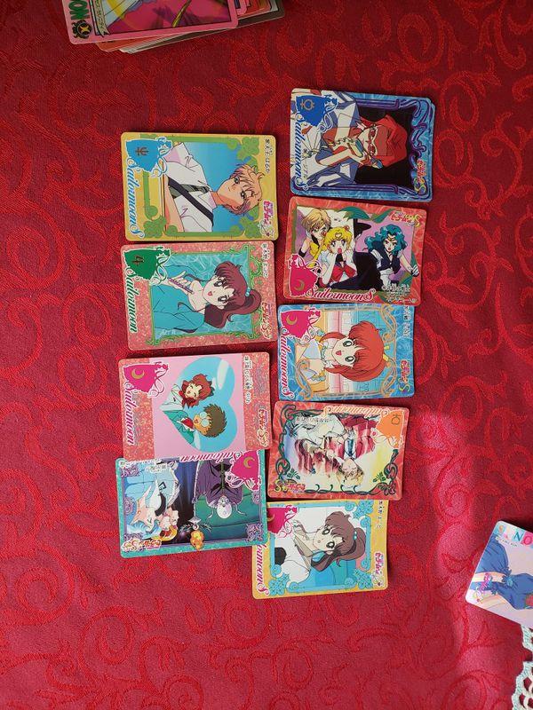 Sailor moon cards