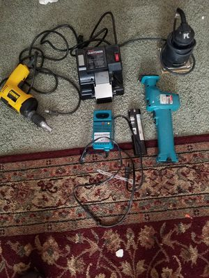 Makita, craftsman , dewalt and potter cable for Sale in Oregon City, OR