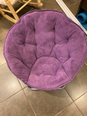 Purple lounge chair for Sale in Silver Spring, MD