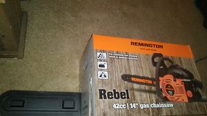 "Remington Rebel 14"" Gas Chainsaw for Sale in Portland, OR"