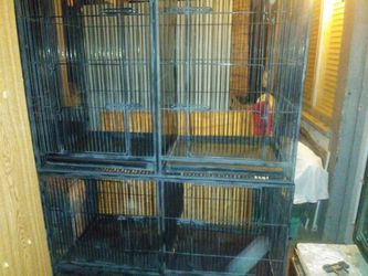 4 OR 1 Conjoining Bird/Animal Cage for Sale in Fresno,  CA