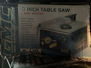 "Brand New GMC 10"" Table Saw for Sale in Ballwin, MO"