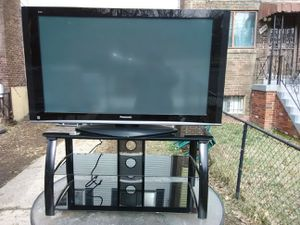 Panasonic 50 inch TV with remote control and 3 HDMI ports for Sale in Washington, DC
