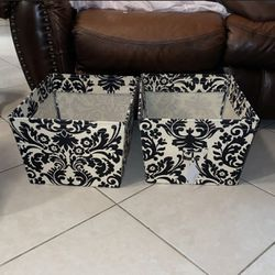 Storage Canvas Organizer Fabric Cube Bin set for Sale in Naples,  FL