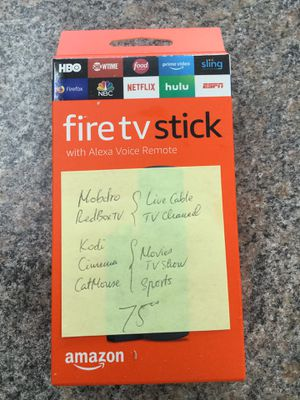 Fire tv stick watch free movies for Sale in Fort Worth, TX
