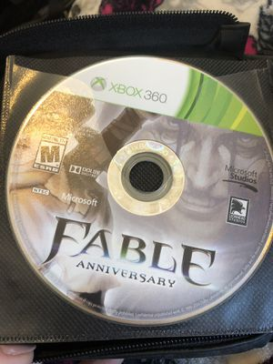 5 Xbox 360 games and case for Sale in Egg Harbor Township, NJ