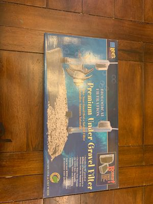 Under Gravel Filter for Aquariums for Sale in Palm Desert, CA