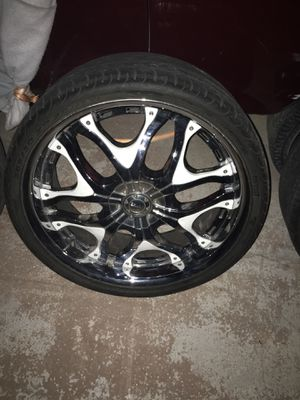 22 INCH RIMS ALL 4 FOR $500 for Sale in North Las Vegas, NV