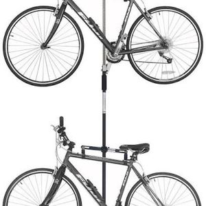 Bike Rack Pole Freestanding Floor To Ceiling Up To 9 Feet No Drilling for Sale in Fairfax, VA