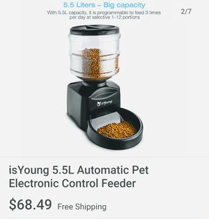 5.5L Automatic Pet Electronic Control Feeder for Sale in Monrovia, CA