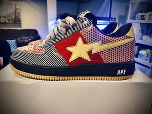 Bapestas bape shoes size 10.5 for Sale in Roseville, MI