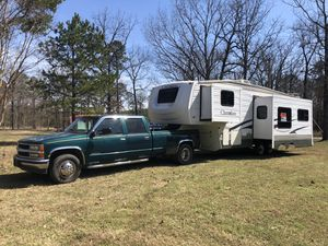 Camper and Truck for Sale in Roland, AR