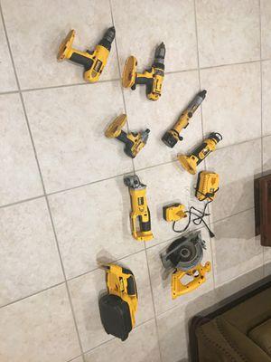 De Walt 18 volt tools for Sale in Miami, FL