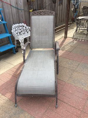 Chairs pool iron for Sale in Stickney, IL