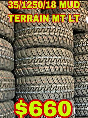 35 1250 18 BRAND NEW SET OF TIRES for Sale in Mesa, AZ