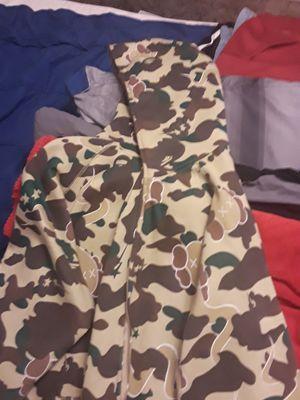 Rare bape x kaws full zip hoodie 05-07 excellent condition for Sale in La Vergne, TN