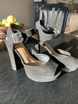 Size 7.5 black heels for Sale in St. Louis, MO