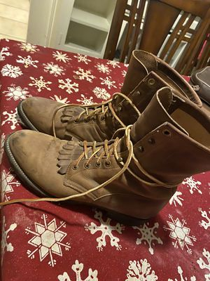 Justin work boots 81/2 men's for Sale in Fresno, CA