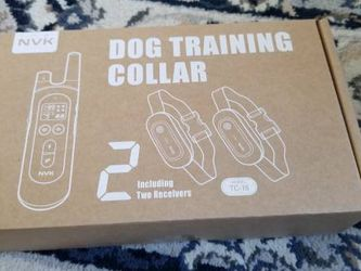 Dog Training Collars - 2 Receiver Rechargeable Collars for Dogs with Remote, 3 Training Modes, Beep, Vibration and Shock, Waterproof Training Collar, for Sale in Fremont,  CA