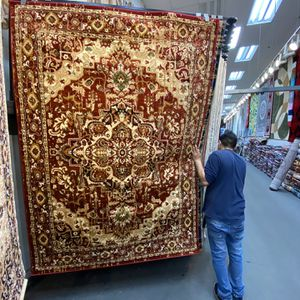 5x7 Area Rugs Carpet Rugs Persian Traditional Design Super Soft Silky Touch Thick Tight Pile Colors Burgundy Green Gold for Sale in Los Angeles, CA