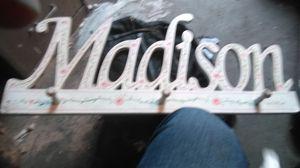 Wood Madison decor for Sale in Wheatland, CA