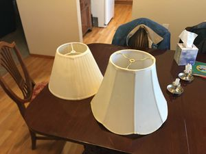 Two Lamp Shades for Sale in Lakewood, WA