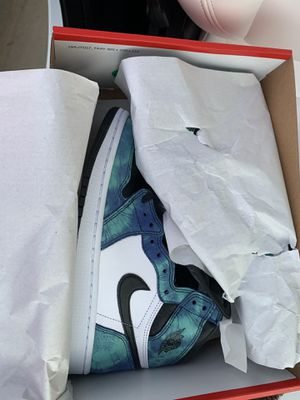 Brand new tie dye Jordan 1 size 8 WOMENS for Sale in Clarksburg, MD